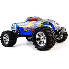 100 Brushless Rc Truck Barbarian EXL 18 Scale RC Monster 24G