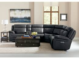 Wall Saver Reclining Couch by Bassett Evo Power Reclining Sectional 3706 Lsect6 Talsma