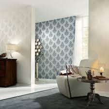tapete nobile blau silber