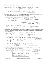 100 Ph Of 1 Calculate The PH Of A 0 X 03 M Solution Of Pages