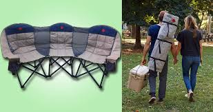 This 3-Person Folding Chair Is Like Having A Couch While You ... Cheapest Useful Beach Canvas Director Chair For Camping Buy Two Personfolding Chairaldi Product On Outdoor Sports Padded Folding Loveseat Couple 2 Person Best Chairs Of 2019 Switchback Travel Amazoncom Fdinspiration Blue 2person Seat Catamarca Arm Xl Black Choice Products Double Wide Mesh Zero Gravity With Cup Holders Tan Peak Twin 14 Camping Chairs Fniture The Home Depot Two 25 Ideas For Sale Free Oz Delivery Snowys Glaaa1357 Newspaper Vango Hampton Dlx