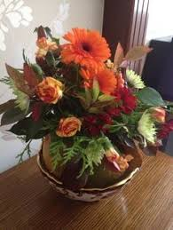 First attempt floristry class