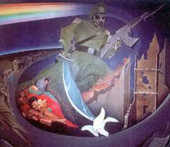 Denver International Airport Murals Removed by The Deadly Secret Is Out The Denver International Airport