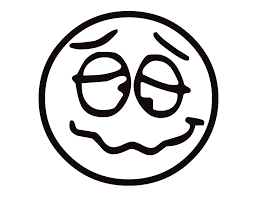 Emotion Smiley Faces Coloring Pages Funny Face
