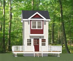 12x12 Shed Plans Pdf by 12x12 Tiny House 12x12h4 282 Sq Ft Houses Pinterest