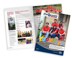 100 Best Designed Magazines Team To Design Print Solutions Including HR Newsletters