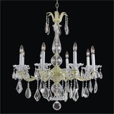Old World Crystal 8 Light Chandelier