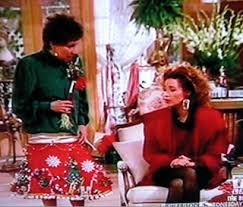 At Least TVLand Is Running It One Of My Favorite Moments Was On The Other Day Bernice Wearing A Christmas Tree Skirt