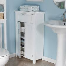 Narrow White Bathroom Floor Cabinet by Bathroom Furniture Bathroom Decorating Ideas Furniture Corner
