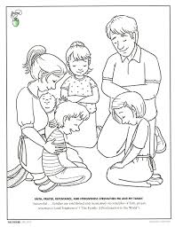 Coloring Pages For Prayer At