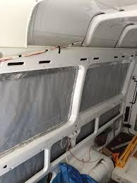 UltraTouch Denim Insulation In A Sprinter Van