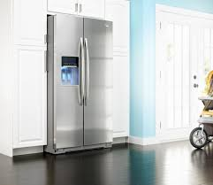 Whirlpool Refrigerator Leaking Water On Floor by Whirlpool Gss30c6eyy 29 7 Cu Ft Side By Side Refrigerator With