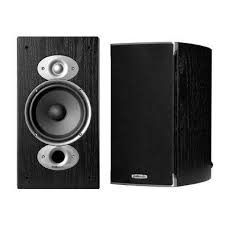 Polk RTi A3 Bookshelf Speaker Pair Black