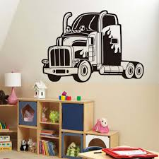 Home Decor Babys Room Wall Decals Removable Vinyl Adhesive Retro ... Cars Wall Decals Best Vinyl Decal Monster Truck Garage Decor Cstruction For Boys Fire Truck Wall Decal Department Art Custom Sticker Dump Xxl Nursery Kids Rooms Boy Room Fire Xl Trucks Stickers Elitflat Plane Car Etsy Murals Theme Ideas Racing Art