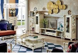 kolonial stil wohnwand wohnzimmer wände holz regal möbel