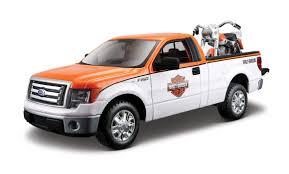 100 Ford Harley Davidson Truck MA3217303 2010 F150 STX Orange Top With