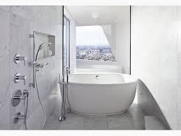 k t97344 4 stillness bath filler trim with handshower kohler