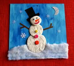 Snowman At Night Portraits