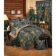Amazon New Break Up Mossy Oak Camouflage forter Set Queen