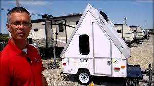 ALINER ALITE CAMPER RV TRAVEL TRAILER FOLDING TENT POP UP FOLD DOWN