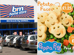 b m launches peppa pig potato faces and shaped carrots to