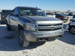 2GCEC19C371703154 | 2007 GRAY CHEVROLET SILVERADO On Sale In TX - FT ...