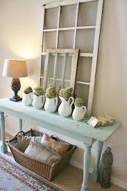 Comfy Farmhouse Living Room Designs To Steal If You Have Some Space By The Wall Put A Console Table There It Could