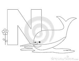 Coloring Pages Animal Alphabet 9 Images Of N Letter