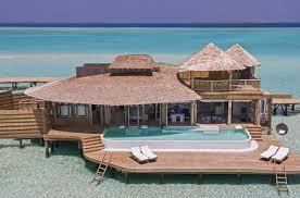 chambre sur pilotis maldives soneva jani séjour hotel 5 étoiles luxe noonu atoll maldives
