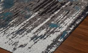 Teal Living Room Rug by Modern Greys Collection Area Rugs Teal Haynes Furniture