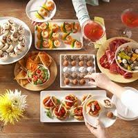 Finger Food Party And Wine