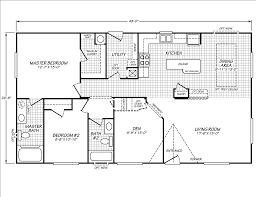 Fleetwood Triple Wide Mobile Home Floor Plans by Waverly Crest Archives Ziegler Homes