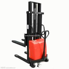 100 Industrial Lift Truck China Warehouse Forklift Electric Pallet