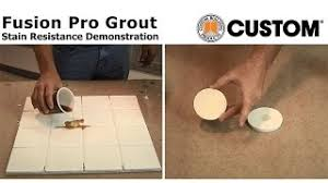 Tilelab Grout And Tile Sealer Sds by How To Install Fusion Pro Grout Custom Building Products