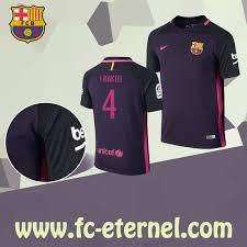 acheter maillot de foot fc barcelone i rakiti 4 exterieur 2016