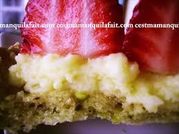 tarte aux fraises pate feuilletee tarte de fraises douces sur sa pâte sablée à la pistache cuisine