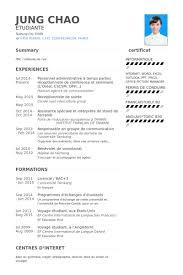 Personnel Administrative A Temps Partiel Receptionniste De Conference Et Seminaire LOreal Cscsm Oph Resume Samples