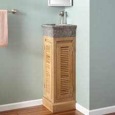 Teak Bathroom Shelving Unit by Bathroom Wonderful Teak Corner Bathroom Vanity Also Gray Marble