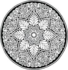 Adult Mandala Coloring Pages Printable Detailed Amazing Design Images Of