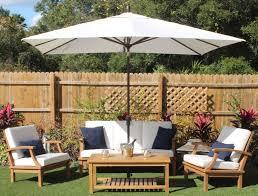 Outdoor Furniture Cushions Sunbrella Fabric by Sale 8ft X 10ft Rectangular Umbrella U2013 Sunbrella Fabric Oceanic