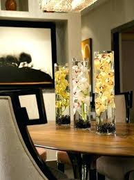 Dining Room Centerpieces Ideas Glass For Tables Table Of
