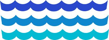 Drawn wave transparent 3