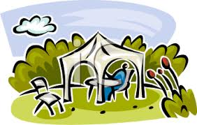 Royalty Free Clip Art Image Canopy For Shade Over Outdoor Furniture