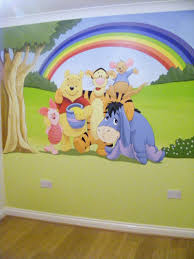 Winnie The Pooh Nursery Decor Uk by Winnie The Pooh Murals