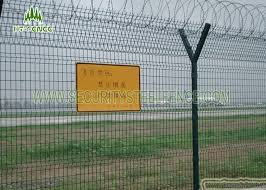 The Drawing Of Anti Climb Fence Installation Including Airport Security Welded Mesh Fence 3d Panel Fence With 50 200mm