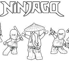 Qualified Ninjago Coloring Sheets F2054
