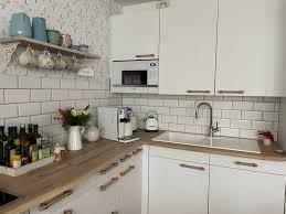 unser küchenumbau oder unsere neue küche im skandinavischen