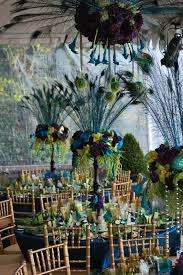 peacock table decorations 3 MY DREAM WEEDING