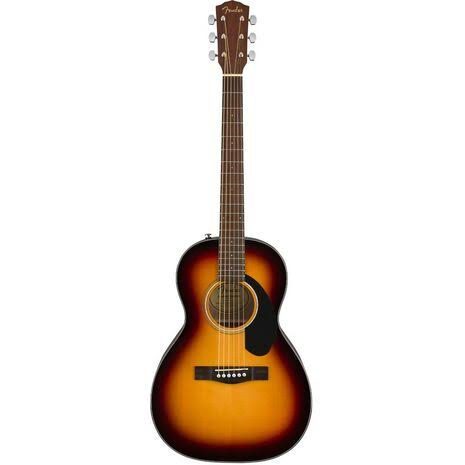 Fender CP-60S Parlor Acoustic Guitar - Sunburst