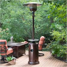 Fire Sense Deluxe Patio Heater 11201 by Stainless Steel Table Top Patio Heater Hanover Mini Pyramid